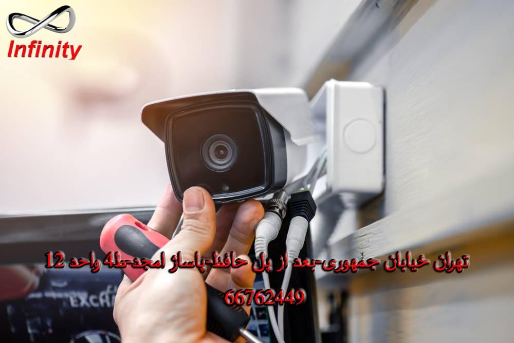 دوربین مداربسته برای تیم نصب دوربین مدار بسته