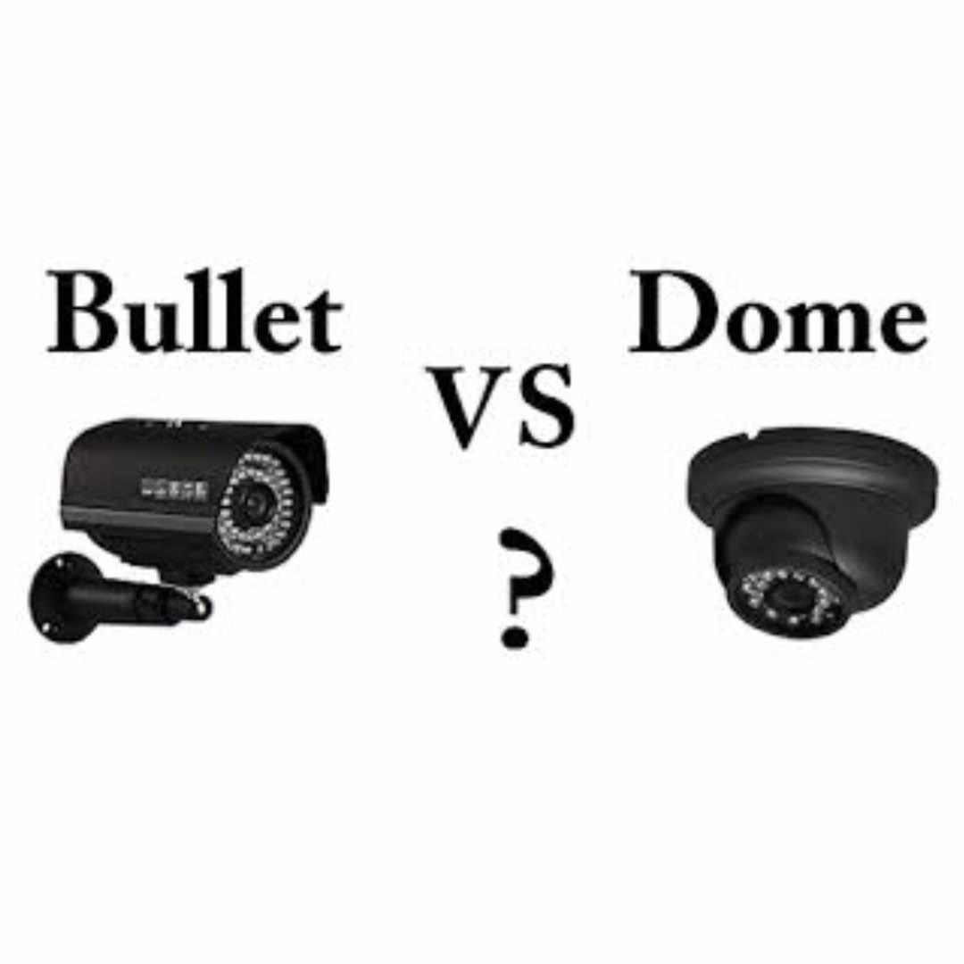 تفاوت دوربین دام و بولت در نصب دوربین مداربسته