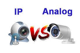 مقایسه دوربین IP و آنالوگ