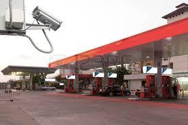 نصب دوربین مداربسته در پمپ بنزین