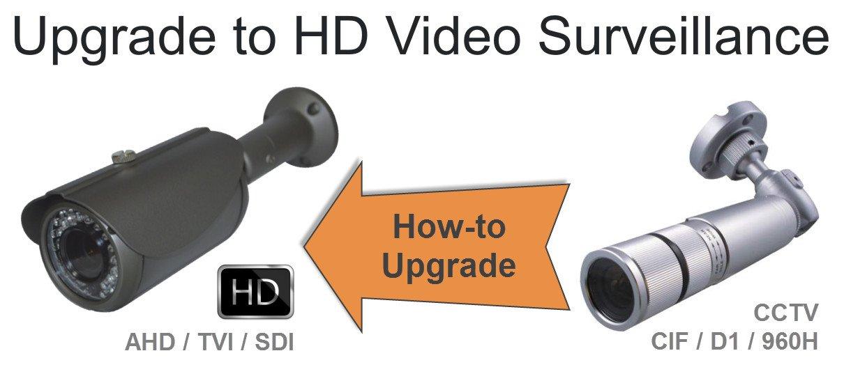 ارتقا یک سیستم دوربین مداربسته به یک دوربین مداربسته HD