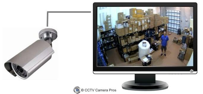 اتصال دوربین مداربسته به تلویزیون