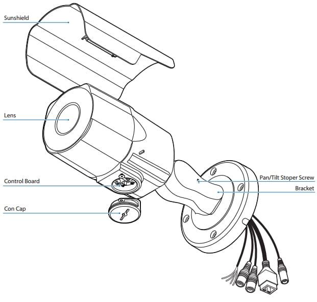 نصب دوربین بولت تحت شبکه