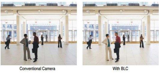 قابلیت های HLC , BLC و WDR در دوربین مداربسته