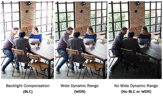 WDR یا BLC و یا HLC کدام یک بهتر است؟