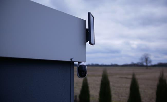 دوربین مداربسته انرژی خورشیدی