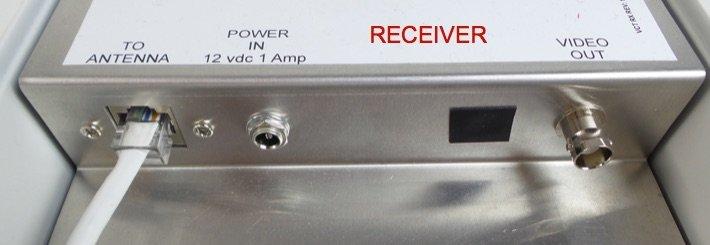 دستگاه گیرنده در نصب دوربین مدار بسته آسانسور