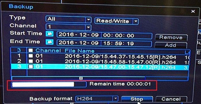 چگونگی پشتیبان گیری(بکاپ) از دستگاه دی وی آر
