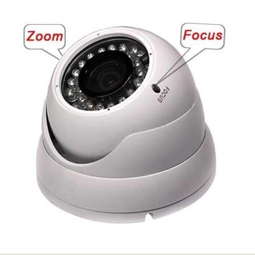 مفاهیم zoom و focus در دوربین مداربسته