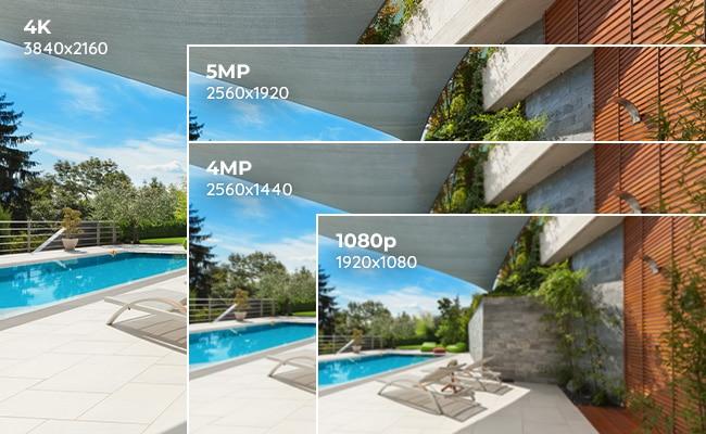 مقایسه دوربین 2مگاپیکسل و 5 مگاپیکسل AHD