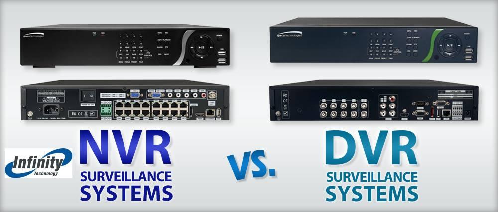 مقایسه کیفیت DVR , NVR
