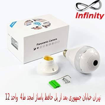 راهنمای خرید دوربین مداربسته لامپی