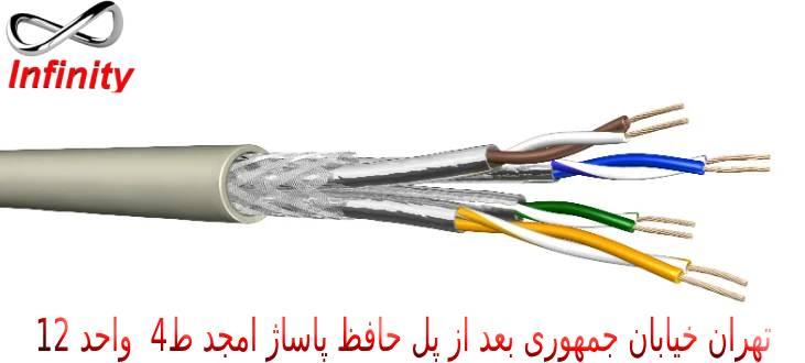 استفاده از کابل ضد حریق برای نصب دوربین مداربسته